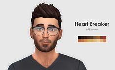 Ellesmea: LumiaLoverSims Heart Breaker hairstyle recolors - Sims 4 Hairs - http://sims4hairs.com/ellesmea-lumialoversims-heart-breaker-hairstyle-recolors/