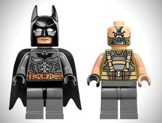 Limited Edition LEGO The Dark Knight Rises Figures
