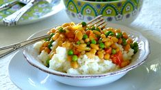 A delicious vegetarian curry – you can make it as hot and fiery as you like! Vegetarian Curry, Vegetarian Recipes, Cooking Recipes, Cooking Games, How To Cook Corn, How To Cook Chicken, Vegetarian Cooking Classes, Cooking Pumpkin, Cooking Corn
