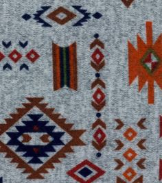 Wandering Spirits -  Aztec Multi Imperial Knit Fabric
