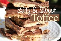 Toffee:++So+Easy+&+So+Good!