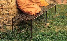 Muebles de jardín: fotos ideas para decorar - Mobiliario jardín en hierro forjado