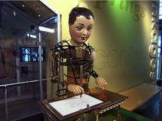 """From the bestselling children's novel """"The Invention of Hugo Cabret"""" to the Oscar nominated film """"Hugo,"""" automatons - mechanical marvels from a time gone by ..."""
