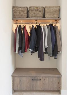 Garderobe # Wohnung # Flur # Garderobe Best Picture For residential Entrance For Your Taste You are looking for something, and it is going to tell you exactly what you are looking for, and you didn't Hall Coat Rack, Coat Racks, Bedroom Storage, Bedroom Decor, Entryway Decor, Foyer Decorating, Decorating Ideas, House Inside, Unique Home Decor