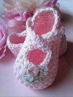 Baby Girl Photo Prop Tutu Crochet Baby by TippyToesBabyDesigns