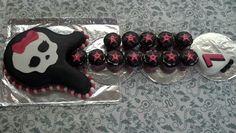 Monster High/Rockstar birthday cake