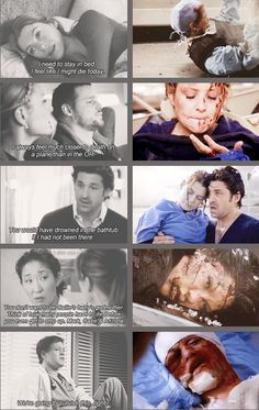 Everybody gets feels from Grey's Anatomy. EVERY SINGLE PERSON.