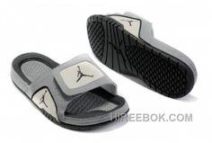 699b35f750ee2 Nike Air Jordan Hydro 5 Homme Gris Free Shipping