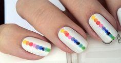 Regenbogen-Auf Pinterest  entdeckt und nachgemacht. Einfach