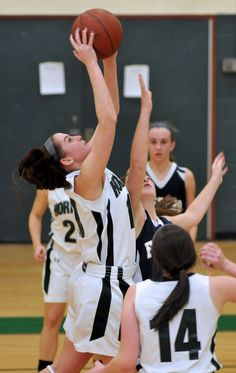 MANSFIELD - Much as they tried, the Mansfield High girls' basketball team simply couldn't put arch-rival Foxboro down for the count Tuesday night.