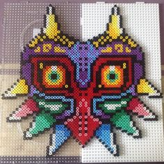 LoZ Majora's mask hama beads by josefinecarolina