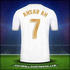Make personalized Real Madrid CF jersey. Customize jersey Real Madrid CF with your name and number. Create jersey with the font Real Madrid CF Real Madrid Cake, Real Madrid Shirt, Football Shirt Maker, Football Shirts, Messi Soccer, Soccer Boys, Custom Shirt Maker, Custom Shirts, Fitness Exercises