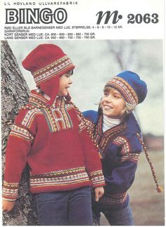 Ravelry: Project Gallery for Child's Jumper with Hat pattern by Hovland UK Ltd Icelandic Sweaters, Fair Isle Pattern, Long Sweaters, Knitting Needles, Bingo, Knitting Patterns, Knit Crochet, Captain Hat, Kids Fashion