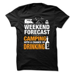 LTD WEEKEND FORECAST CAMPING T-Shirts, Hoodies. SHOPPING NOW ==► https://www.sunfrog.com/Hobby/LTD--WEEKEND-FORECAST--CAMPING-98884834-Guys.html?id=41382