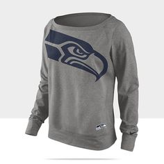Nike Wildcard Epic (NFL Seahawks) Women's Sweatshirt Seahawks Gear, Seattle Seahawks, Seahawks Apparel, Seahawks Fans, Team Apparel, Nfl Patriots, Nike Nfl, Adidas, Nike Women
