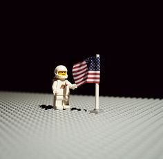 Photography Mike Stimpson claims he likes to play with toys, and light – we can tell he isn't lying from the photos he took of lego men (and lego ladies) recreating famous photographs.