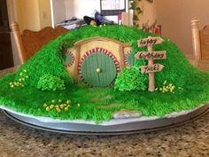 Hobbit House Cake | Hobbit themed birthday cake - Imgur