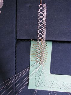 Bedfordshire lace by guzzisue, via Flickr
