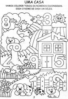 ab zahlen finden kita arbeitsbl tter vorschule vorschule und vorschulideen. Black Bedroom Furniture Sets. Home Design Ideas