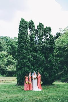 tree bridesmaids… ya know? what i mean? ;)