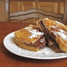 S'mores French Toast Paninis - A Dessert Recipe for the George Foreman Grill