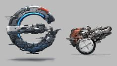 ArtStation - vehicle concept, J.C Park