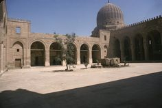 Cairo, Complex of Faraj b.Barquq in the Northern Cemetery, 1400-11
