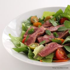 Phong Hong Bakes and Cooks!: Thai Style Beef Salad