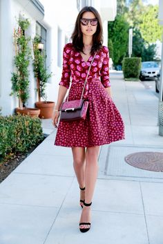 See 6 Bloggers Take Diane von Furstenberg's Fall Collection for a Spin via @WhoWhatWear  This dress!!