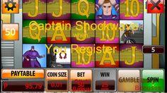 Captain Shockwave ONLINE & MOBILE Free No Deposit Bonus Play