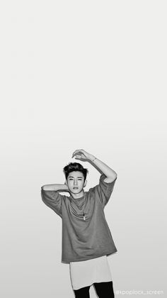 Hanbin Wallpaper Cr: Kpoplock_screen