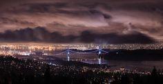 Vancouver night view by Ryan_Ni, via Flickr