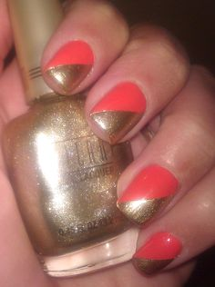 So cute! Gotta try this. I'm loving coral colors!!!