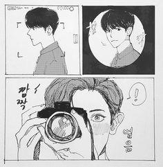 [English] A ChanBaek/BaekYeol fanfiction. === In which Baekhyun is a love master, Chanyeol ask him how to fall in love. ----- Cover made by : This fiction is pure my imagination. Chanbaek Fanart, Kpop Fanart, Baekyeol, Drawing Sketches, Art Drawings, Exo Anime, Exo Fan Art, Estilo Anime, Fanarts Anime