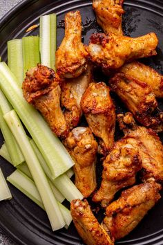 The BEST homemade crispy air fryer chicken wings that is ready in just 30 minutes! Air Fryer Chicken Wings, Baked Chicken Wings, Chicken Wing Recipes, Cooking Recipes, Healthy Recipes, What's Cooking, Healthy Meals, Anti Inflammatory Recipes, Air Fryer Recipes