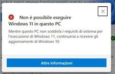 I requisiti per installare Windows 11, molto più specifici, rispetto a Windows 10 hanno creato non poco scompiglio. Non solo Windows 11 sarebbe, teoricamente, incompatibile con i PC che montano CPU vecchie, ma anche a causa dell'obbligo di avere il modulo TPM 2.0 vengono tagliati dall'aggiornamento milioni di computer più vecchi di 4 o 5 anni.Non è passato molto tempo dall'uscita di Windows 11 che è stato subito reso possibile l'aggiornamento a Windows 11 dei PC incompatibili, come visto nella g Windows, Ramen, Window