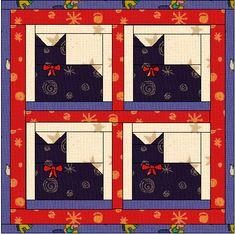 http://www.sewvac1.com/graphics/catquiltsm.gif Cat Quilt Patterns, Pattern Blocks, Dog Quilts, Animal Quilts, Barn Quilts, Patchwork, Quilt Blocks, 24 Blocks, Cat Pattern