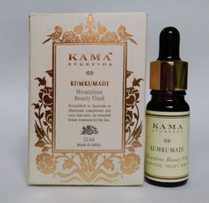Kama Kumkumadi Miraculous Beauty Ayurvedic Night Serum