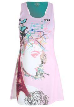#Fila #Sportkleid #rose für #Damen -