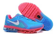 newest collection f40c8 ba522 Pas Cher Nike Air Max 2014 Prommo Rouge Bleu Chaussures Nike Shoes Cheap,  Nike Kids