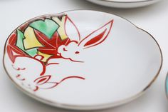 How are Rabbits Familiar in Japan Other than Easter Bunny - Globalkitchen Japan How To Make Sashimi, Craters On The Moon, Japanese Kitchen Knives, Rabbit Art, Bunny Art, Christmas Table Decorations, Painting Techniques, Cute Designs, Rabbits