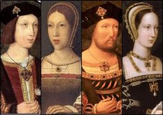 The Tudor Heirs- Prince Arthur of Wales, Queen Margaret of Scotland, King Henry VIII, & Mary Duchess of Suffolk and Dowager Queen of France..