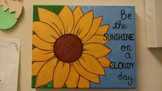 Check out this item in my Etsy shop https://www.etsy.com/listing/462858540/sunshine-on-a-cloudy-day