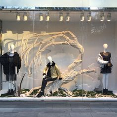 "H&M, HENNES&MAURITZ, ""The Woodlands"", creative by Shona Heath, photo by Stiles Stilinski, pinned by Ton van der Veer"