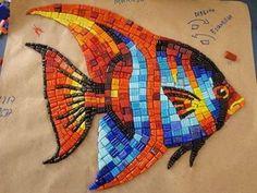 Mosaic Diy, Mosaic Garden, Mosaic Crafts, Mosaic Projects, Mosaic Wall, Mosaic Glass, Mosaic Tiles, Mosaics, Glass Wall Art