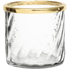 H&M Glass tealight holder (4.01 CAD) ❤ liked on Polyvore featuring home, home decor, candles & candleholders, clear glass, glass tealight holder, h&m, glass tea light holders, glass tealight candle holders and glass home decor