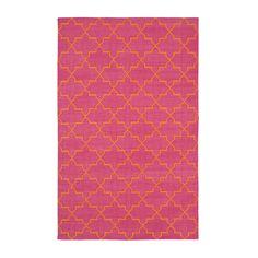 Pink & Orange Brooke Cotton Carpet | MADELINE WEINRIB
