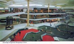 Eastridge Mall. San Jose CA.. and I remember it exactly like this!! Wow what a diffrence