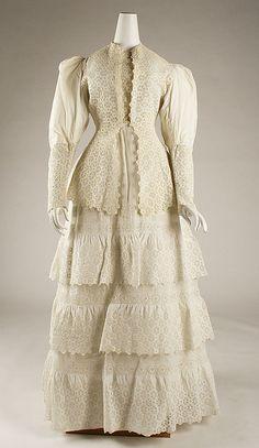 Dress - 1885-90
