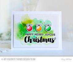 Joyous Christmas Sentiments, Santa's Elves, Santa's Elves Die-namics - Kay Miller  #mftstamps